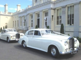 Rolls Royce Silver Cloud wedding car in Richmond